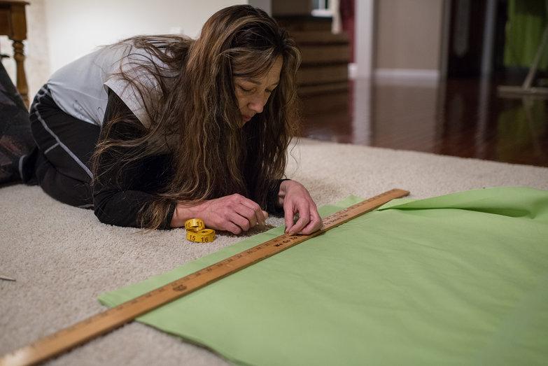 Jodi Measuring Cushion Cover Fabric