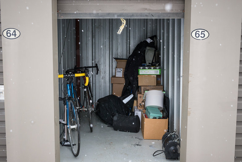 Our Possessions in Storage