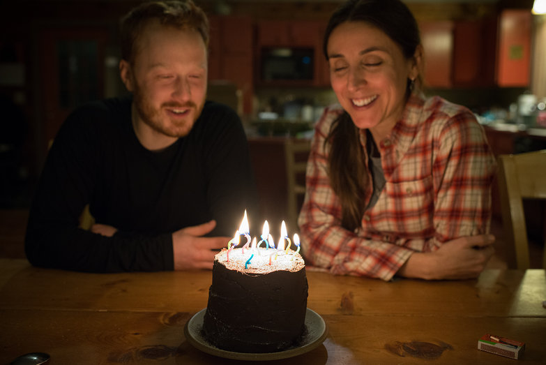 Tyler & Hercilia + Birthday Cake w/ Candles