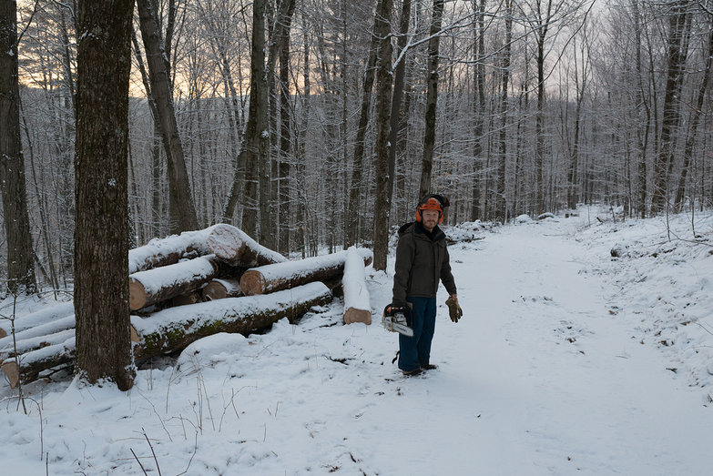 Tyler In Our Snowy Woods
