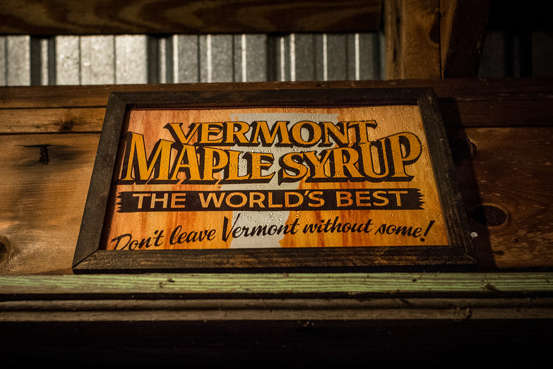 Vermont Maple Syrup Sign