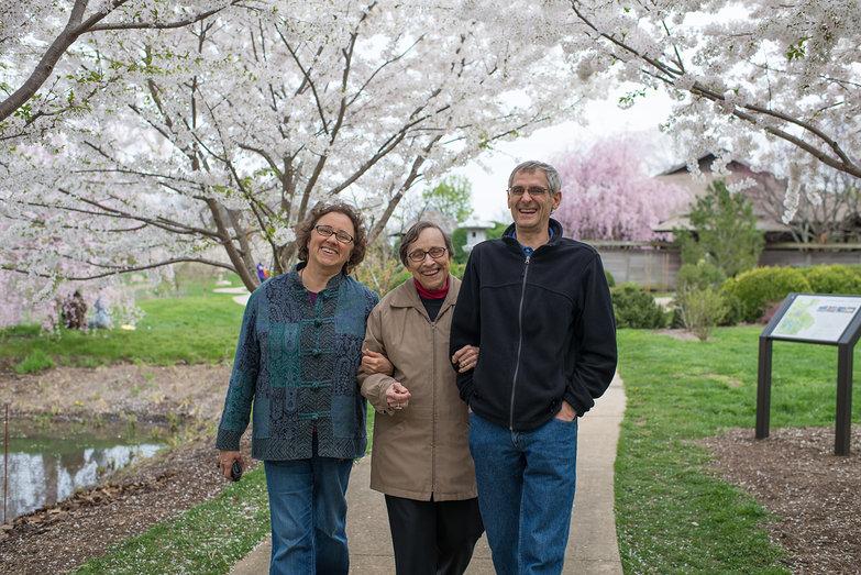 Lisa, Grandma Jeanne & Mark