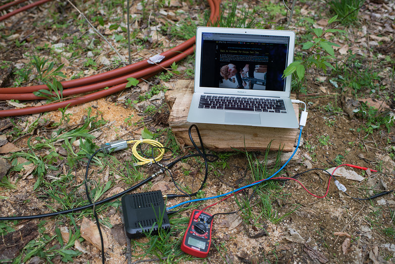 Off Grid Cable Internet w/ Power Over Ethernet