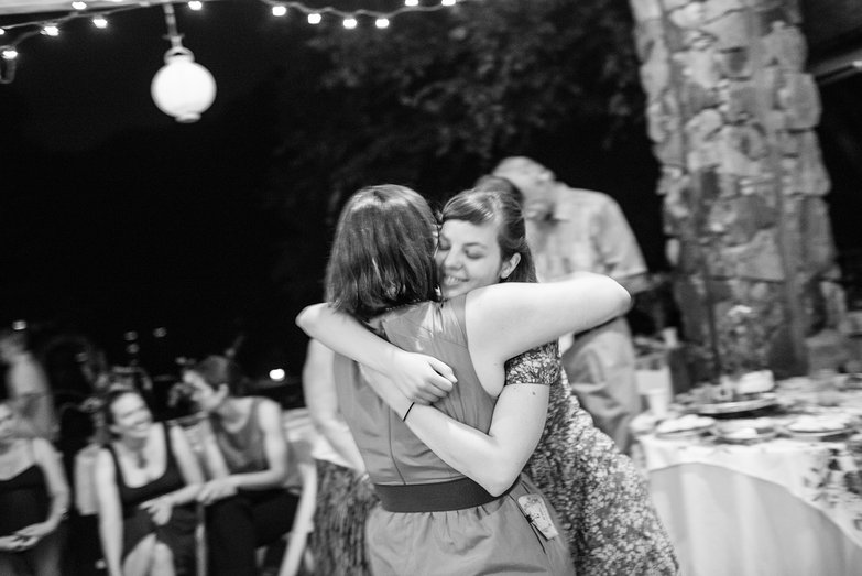 Ali & Lucy Hugging