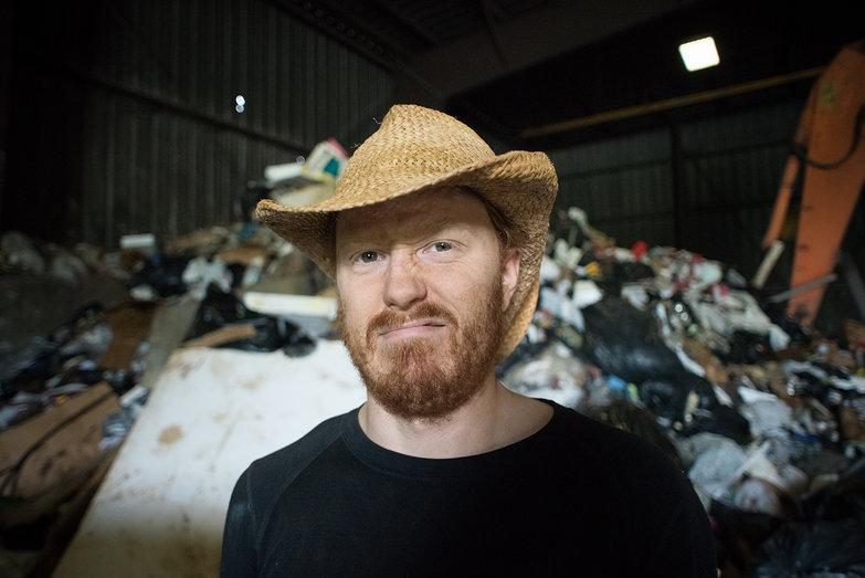 Disgusted Tyler at Arlington Dump