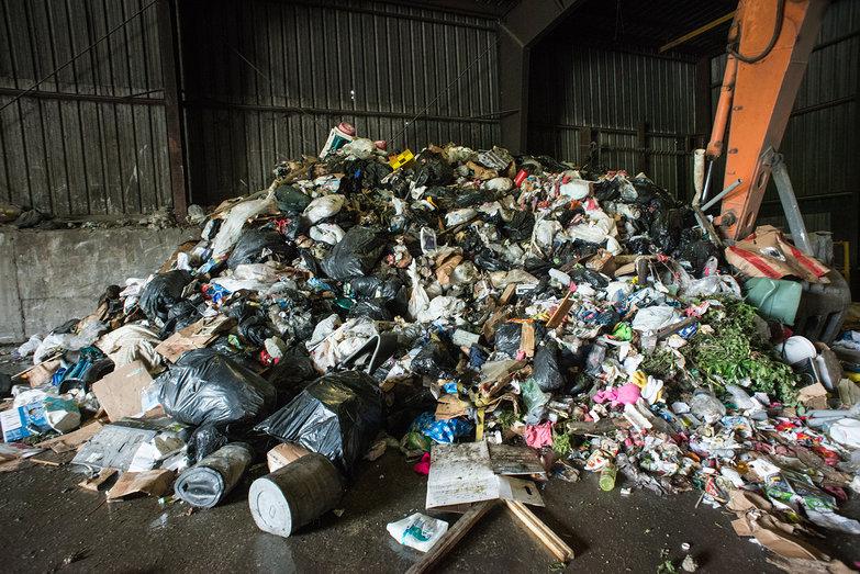 Arlington Dump Trash Pile