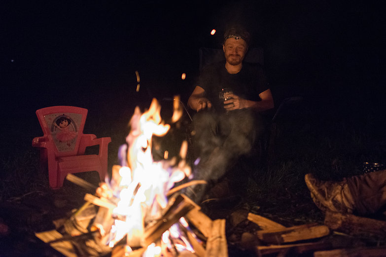 Tyler by the Fire