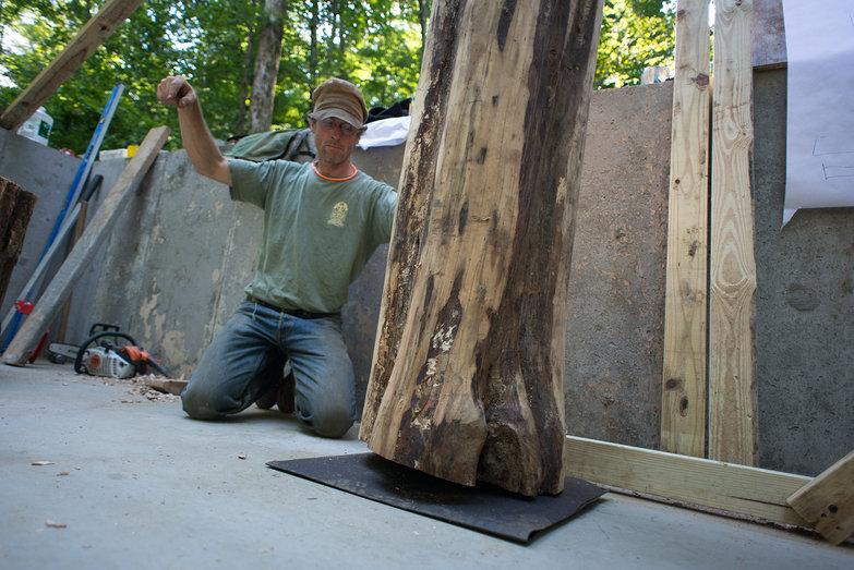 Peter Directing Excavator