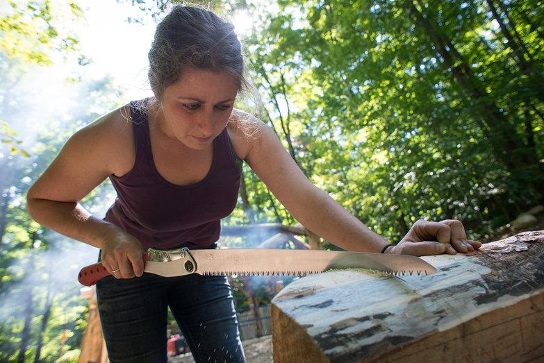 Tara Cutting Rafter Tenon