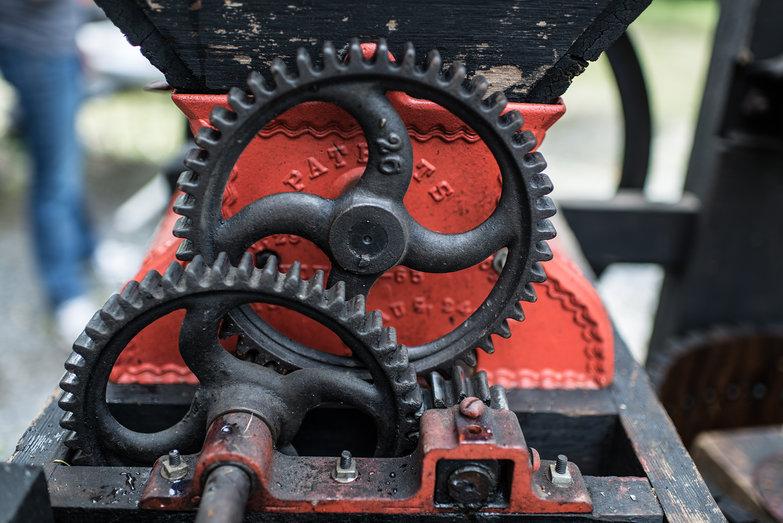 Buckeye Cider Mill Gears