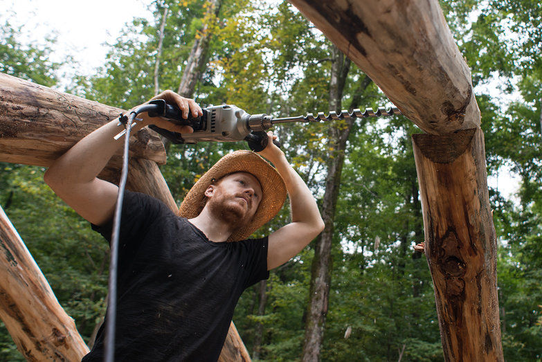 Tyler Drilling Rafter Peg Hole