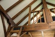 Finished Loft Railing