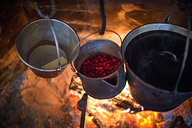 Melting Butter, Cooking Cranberries