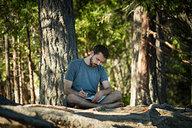 Lian Journaling by Lake Siskiyou