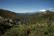 View of Castle Lake & Mount Shasta