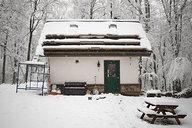 Snowy Straw Bale Cottage