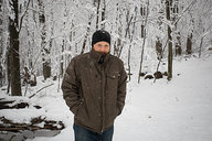 Tyler in Snowy Woods